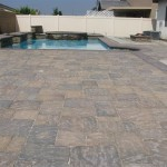 Pavers for pool deck and patio